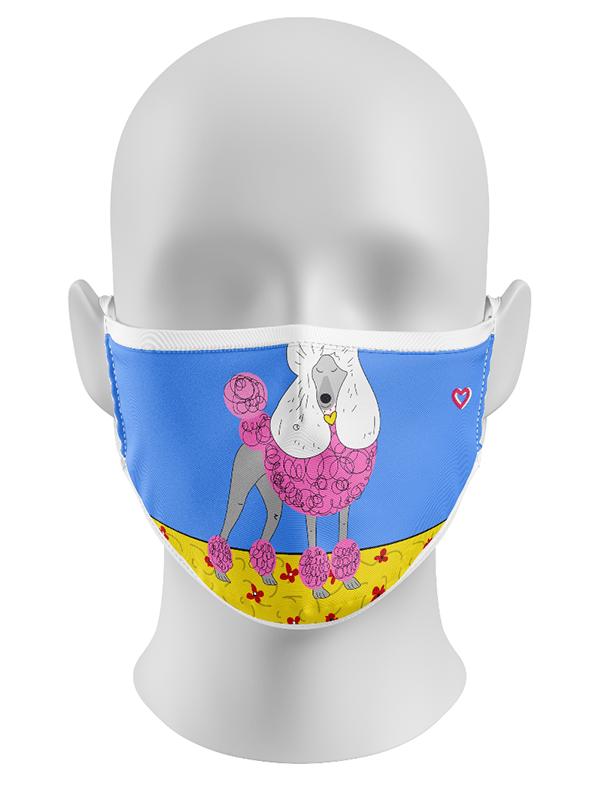 Poodle Lovers Face mask