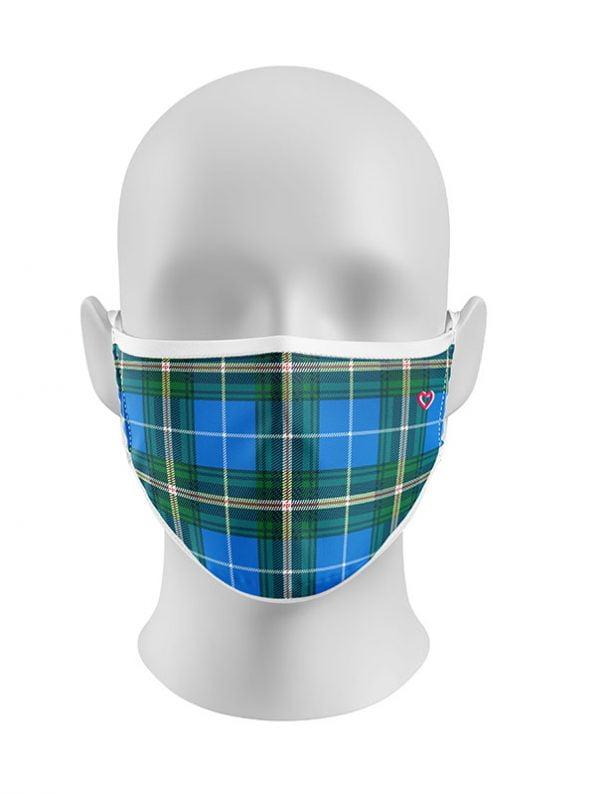 Nova Scotia Tartan Advanced Viroblock Face Mask