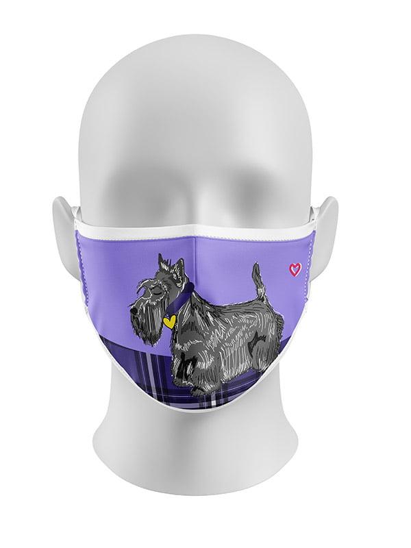 Scottie Dog Face Mask