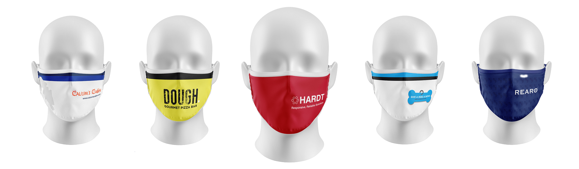 Reusable Antiviral Face Masks - Personalised, Custom & Company Logo Printed Face Masks Scotland & UK