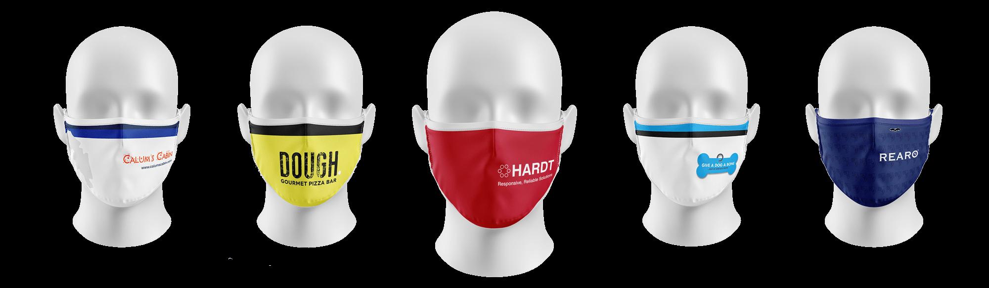 Reusable Antiviral Face Masks - Personalised, Custom & Company Logo Printed Face Masks Scotland & UK