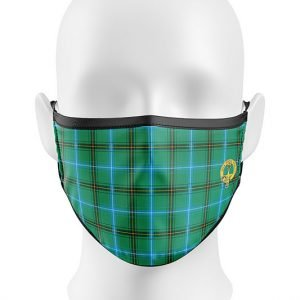 Ancient Henderson Tartan Face Mask
