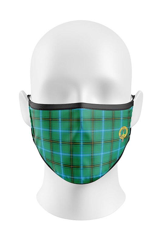 Ancient Henderson Tartan Face Mask