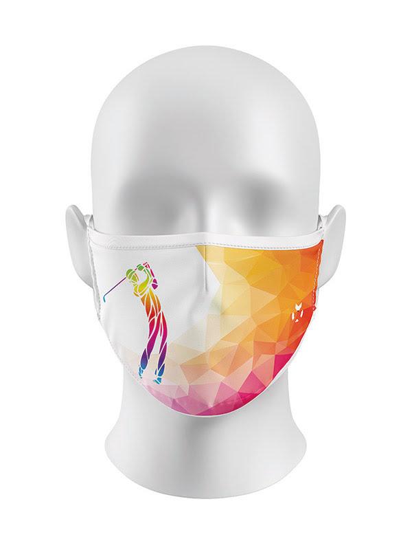 Golf Theme Face Mask
