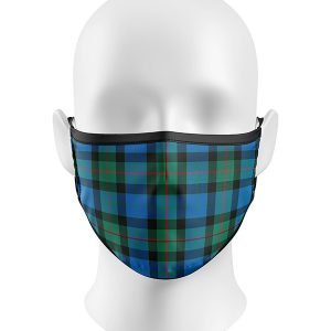 Ancient Gunn Tartan Face Mask