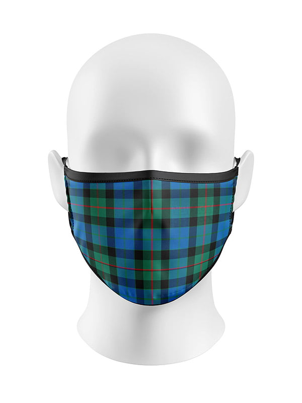 Ancient Gunn Tartan Face Mask